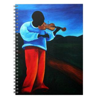 Ti-Jean le violoniste 2008 Notebook