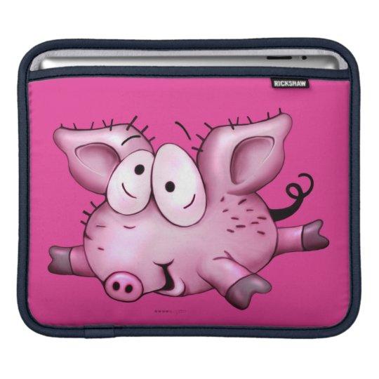Ti-PIG CUTE CARTOON iPad H iPad Sleeve
