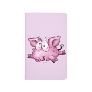 TI PIG CUTE CARTOON Pocket Journal