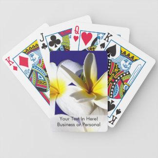 ti plant flowers yellow white blue back jpg bicycle card decks