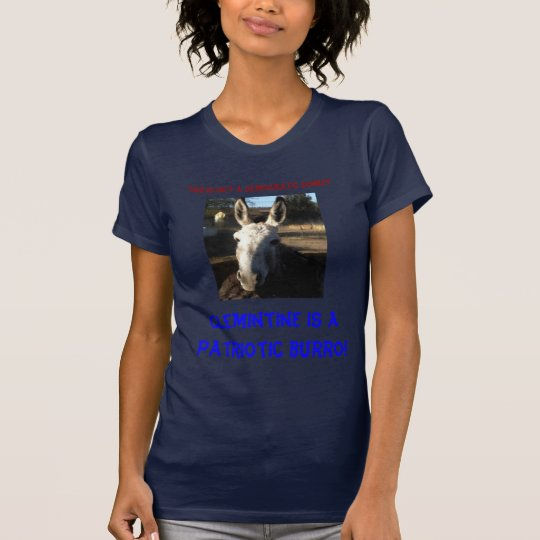 tia shirtJPG, this is not a democratic donkey, ... T-Shirt
