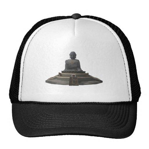 Tian Tan Buddha: Big Buddha: 3D Model: Trucker Hat