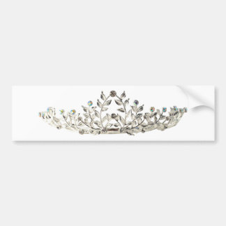 Tiara Bumper Sticker