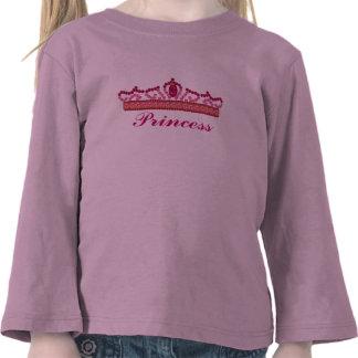 Tiara for a Princess Tshirts