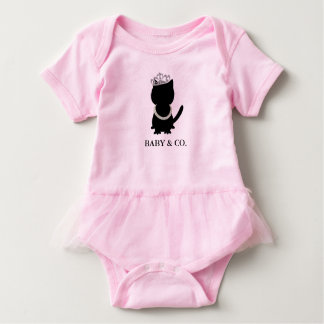Tiara Party Tiffany Cat Pink Party Tutu Bodysuit