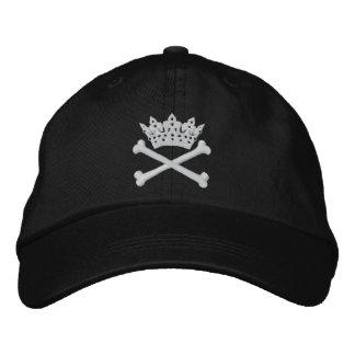 Tiara with Cross Bones - DIVA Cap Embroidered Baseball Caps