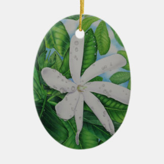 Tiare Tahiti Christmas Ornament
