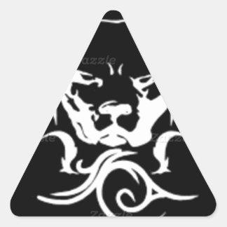 Tibal Stud Triangle Sticker