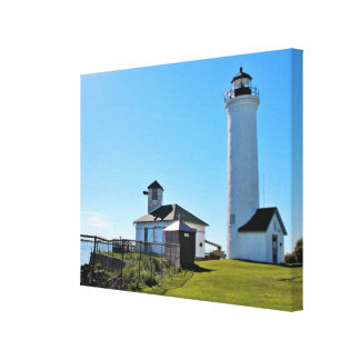 Tibbetts Point Lighthouse, New York Canvas Print