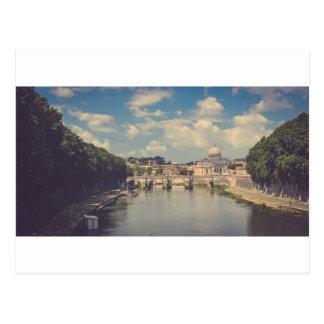 Tiber,Rome,Italy Postcard