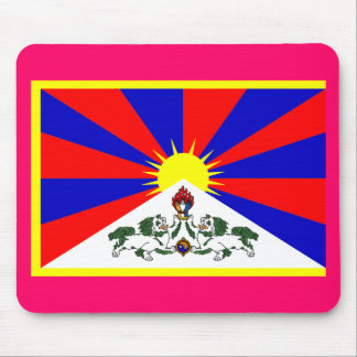 Tibet Flag - Customized Mouse Pad