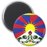 Tibet Flag Fridge Magnets