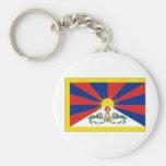 Tibet Flag Keychains