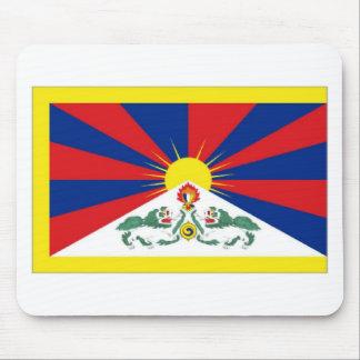 Tibet Flag Mousepads