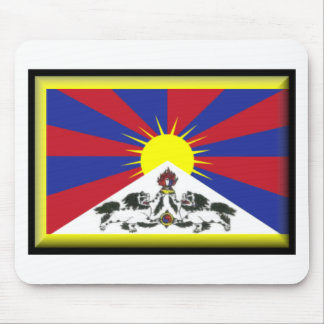 Tibet Flag Mouse Mat