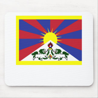 Tibet Flag Mouse Pad