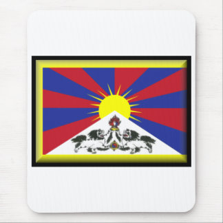Tibet Flag Mousemat