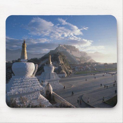 Tibet - Lhasa. Potala at sunrise Mouse Pad