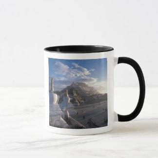 Tibet - Lhasa. Potala at sunrise Mug