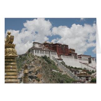 Tibet Photo Card: Potala Palace, Lhasa Tibet Card