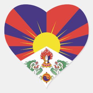 Tibet png heart stickers