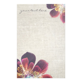 Tibet Sea Flower | personalized stationery