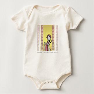 Tibet Tibetan auspicious symbols Baby Bodysuit