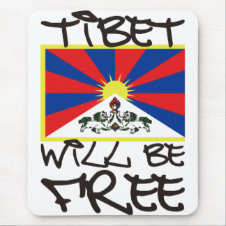 TIBET WILL BE FREE MOUSE PAD