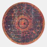 Tibetan astronomical Thangka Stickers