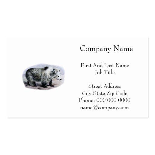 Tibetan Blue Bear Business Card