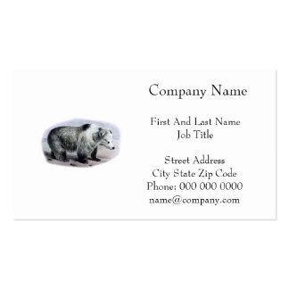 Tibetan Blue Bear Pack Of Standard Business Cards