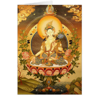 Tibetan Buddhist Art Card