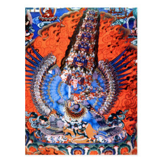 Tibetan Buddhist Art (Chemckok Heruka) Postcard