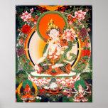 Tibetan Buddhist Art Poster