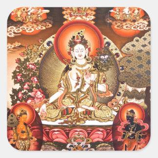 Tibetan Buddhist Art Sticker