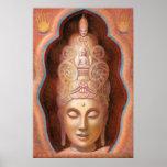 Tibetan Buddhist Goddess Tara Healing Vibes poster