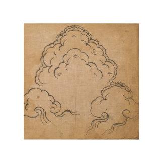 Tibetan Clouds Wood Print