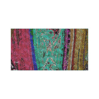 Tibetan Dragon Thangka (Abstract) Canvas Print
