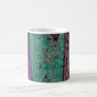 Tibetan Dragon Thangka Abstract Mug