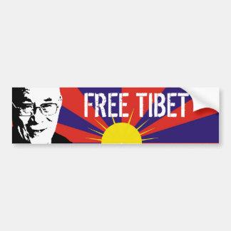 Tibetan Flag, Dalai Lama, FREE TIBET Bumper Stickers