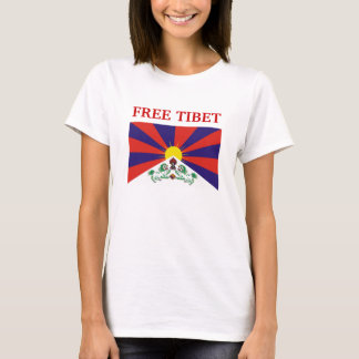 Tibetan Flag, FREE TIBET T-Shirt
