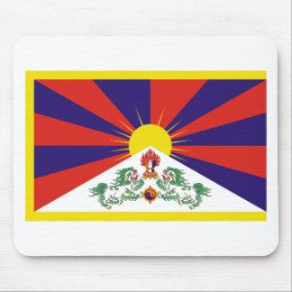 Tibetan Free Tibet Flag - Peu Rangzen བོད་རང་བཙན་ Mouse Pad