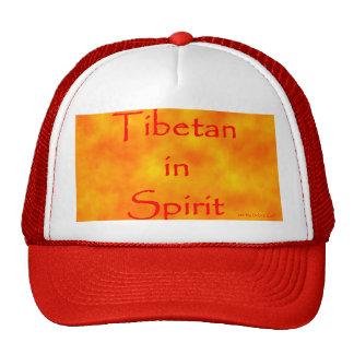 Tibetan in Spirit-hat Cap