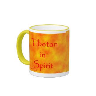 Tibetan in Spirit-Mug Ringer Mug