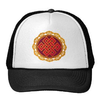 Tibetan Karma Buddhism Eternal Knot Cap