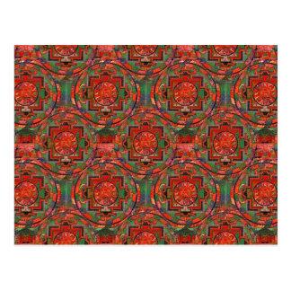 Tibetan Mandala Postcard