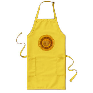 Tibetan Mantra Lotus Flower Long Apron