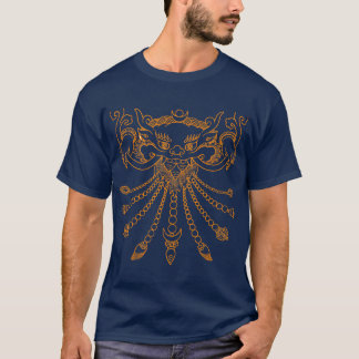 tibetan mask interpretation T-Shirt