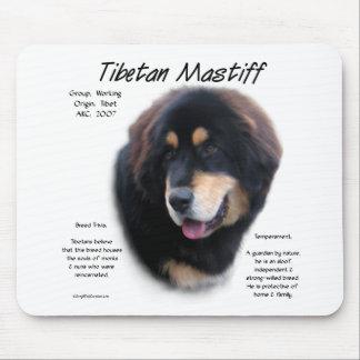 Tibetan Mastiff History Design Mousepads