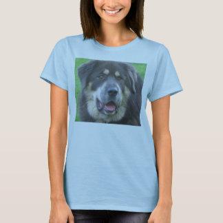 Tibetan Mastiff Ladies T Shirt